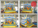 Het springen Moonwalk Combo met de Opblaasbare Uitsmijter T3-150 van het Kasteel van Bouncy van het Huis van de Sprong van de Dia