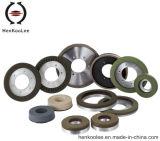 Алмазные резцы для непрерывной оправы Металл-Скрепляют колесо диаманта Сух-Придавая квадратную форму