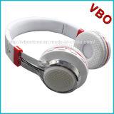 De vouwbare Draadloze StereoHoofdtelefoon van de Hoofdtelefoon van Bluetooth van de Hoofdband over Oor met LEIDENE Verlichting