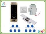 8000人のユーザーは電気殴打のドアロックのアクセス制御キーパッドの箱の読取装置を防水する