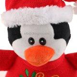 Plüsch-Pinguin-Festival-Geschenk-Weihnachten angefülltes Spielzeug