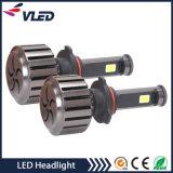 LED 헤드라이트는 차, 트럭, 기관자전차를 위한 전구 12V 9005 H3 H13 H7를 대체한다