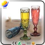 De douane vormde de Koppen van het Glas van de Rode Wijn