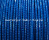 1 * 19 1.3-2.3mm PP Coated Galvanized Steel Wire Rope