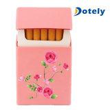 Cubierta protectora del paquete del rectángulo del cigarrillo de la caja del silicón del cigarrillo