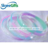 Изготовленный на заказ Wristband силикона для спорта