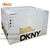 Wegwerfpapierpappkostenzähler-Schaukarton für Einzelverkauf