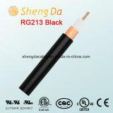 Чернота Rg213 50 омов фабрики коаксиального кабеля