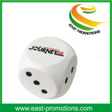 PU Stress Dice Shaped Ball para presentes promocionais