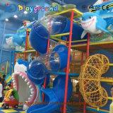 Verwendetes hölzernes Innenspielplatz-Gerät für Verkaufs-Kind-Spielplatz-Gerät InnenFranquias