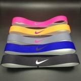 印刷されたカラーまたはデザインスポーツのヘッドバンドスリップ防止Hairband