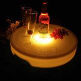Color iluminado de la bandeja 16 del LED que cambia para el hotel del restaurante de la boda del partido del club nocturno