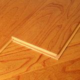 Plancher multicouche imperméable à l'eau en bois solide de type simple