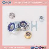 Contraporcas de nylon Hex, DIN985/DIN982 M22-M48