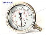 """2.5 """" calibradores de presión llenados líquido/tipo de la Manómetro-Parte inferior"""