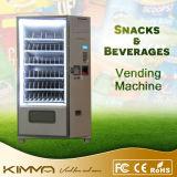 Distributeur automatique de chocolat de taille normale et de jus d'orange