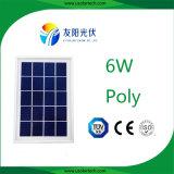 painel solar de luz de rua 6W feito em China