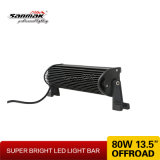 "13.5 "" 80W barras ligeras brillantes autos del CREE 4X4 LED"