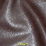 Alto cuero sintetizado de los muebles de la PU de la resistencia de abrasión de la buena calidad