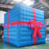 Im Freien dekoratives Weihnachtsgeschenk-Kasten-Modell/große Handelsweihnachtsdekoration Inflatables