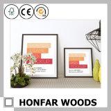 Cornice di legno della decorazione di arte della multi galleria del manifesto
