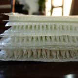 Incêndio - sanduíche resistente tela 3D tecida