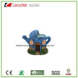 De decoratieve Miniatuur van de Tuin van de Fee van het Huis van de Paddestoel Polyresin voor Huis en Tuin Decoraiton