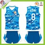 2017 projetar a camisola/uniformes baratos do voleibol de Camo dos esportes ao ar livre