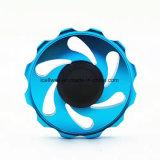Rose-runde Form-Spinner-heißes Metallfinger-Spinner-Kreiselkompass-Rad-Spirale-Finger-Spielzeug
