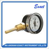 Termometro dell'acqua calda - termometro bimetallico - termometro del tubo