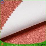 Tejido de poliéster que se reúne la tela de la cortina del apagón Wateroroof de persianas