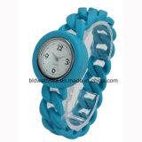Reloj de la jalea del silicón de los niños populares para los cabritos