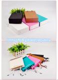 Bolsa de papel modificada para requisitos particulares colorida del regalo que hace compras