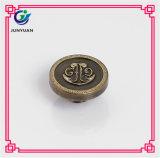 Le métal boutonne le bouton en laiton de denim en métal de bouton de jeans de configuration d'attache