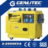 gruppo elettrogeno diesel silenzioso portatile 5kVA con ATS