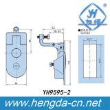Fechamento plano do gabinete de Latchs da alavanca com chave (YH9595)