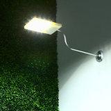 リモート・コントロールの太陽動力を与えられた18のLEDの街灯の自動軽いセンサーの屋外の庭の経路の点ライト壁の緊急時ランプLuminaria