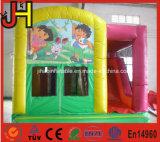 Kind-aufblasbare Schlag-Haus-Kind-aufblasbares kombiniertes mit Plättchen