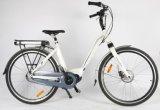 스웨덴 26명의 28 인치 Bafang 불안정한 드라이브 모터 전기 E 자전거 숙녀