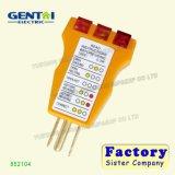 Тестер штепсельной розетки электрического выхода высокого качества (852104)