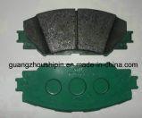 Auto cerámica pastillas de freno para Toyota (04465-02220)