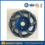 New Type Diamond Cup Wheel para Grinding Stone