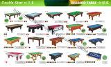 Competiam 9FT barato contínuo das tabelas de associação do bilhar da madeira 8FT