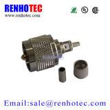 Macho da freqüência ultraelevada do conetor do RF para o cabo Rg214