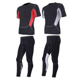 Sports pulsants de collants de forme physique de pantalons de compactage formant des vêtements de sport de gymnastique