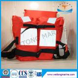 Регулируемый красный цвет CCS Solas одобрил морскую тельняшку деятельности спасательный жилет пены PVC 3 частей