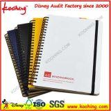 Almofada de nota do bolso do preço de fábrica/caderno espiral do caderno caderno do diário/reunião de Busniss/PP
