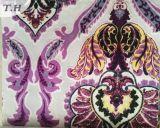 가구와 소파를 위한 다채로운 인쇄 우단 직물