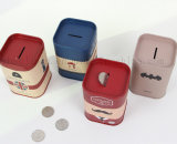 OEM Logo Tin Plate Piggy Bank caja de ahorro caja de dinero para regalos promocionales