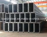 Tubo de acero rectangular galvanizado con precio razonable
